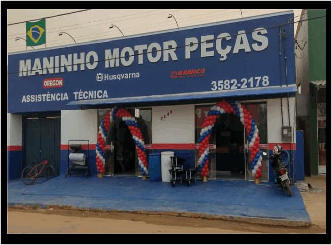 Maninho Motor Peças Reinauguração em Cujubim